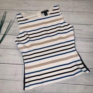 White House Black Market sleeveless blouse - sz 4